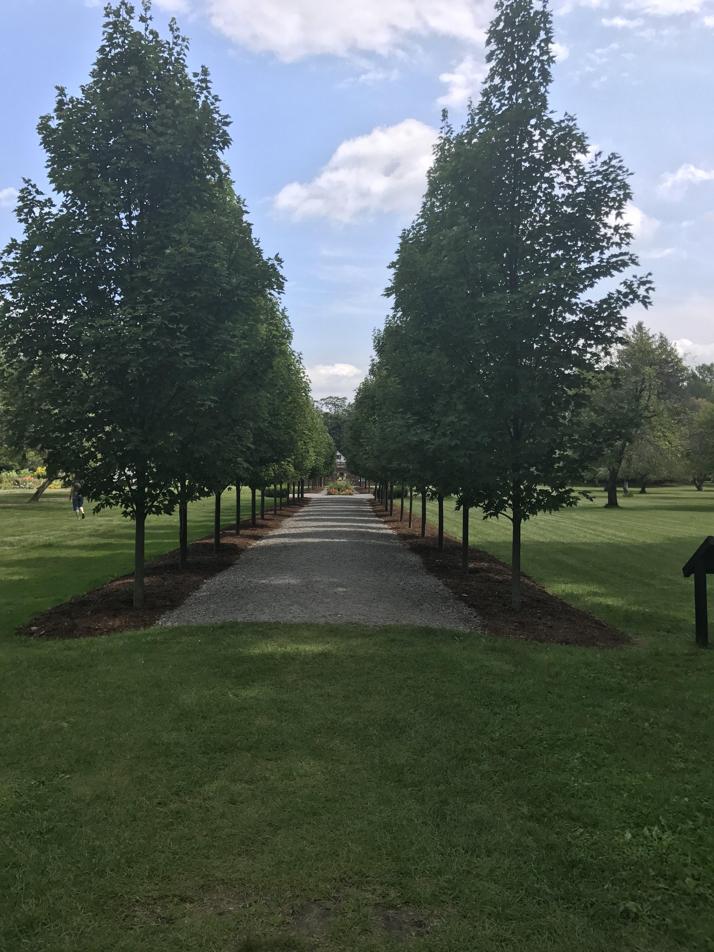 Gardens at Fort Ticonderoga