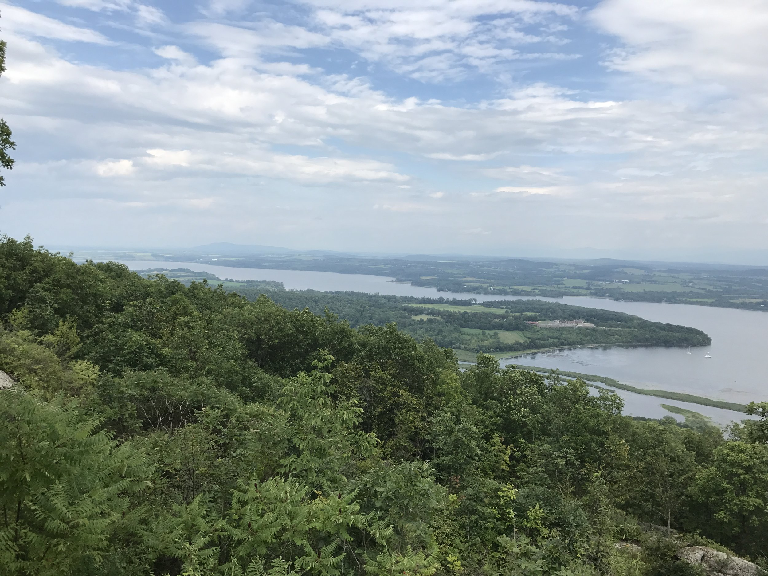 View from the top of Mount Defiance