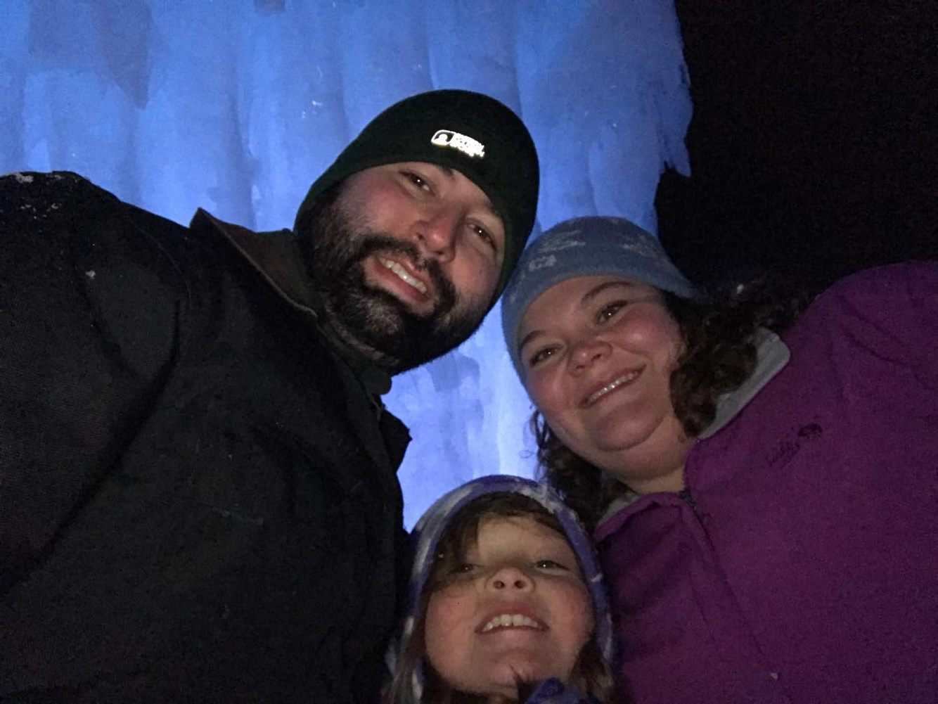 Exploring the Ice Castles in Lincoln, NH