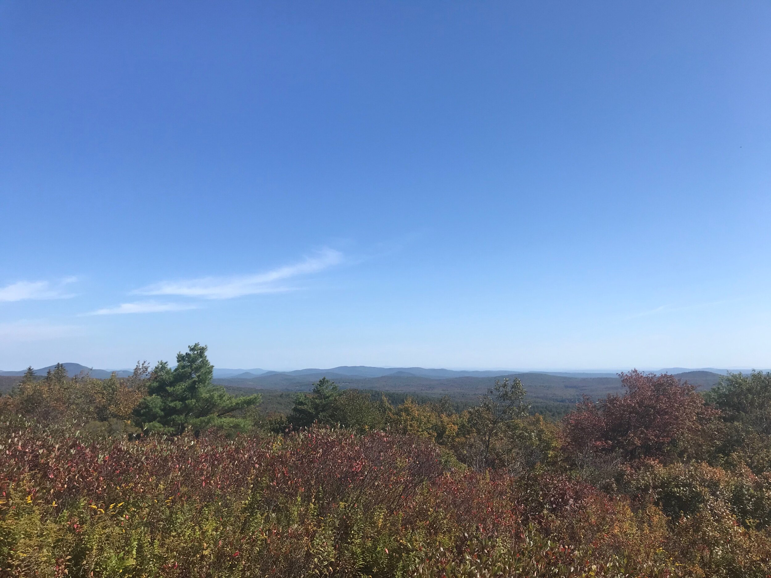 View from Pitcher Mountain in Stoddard