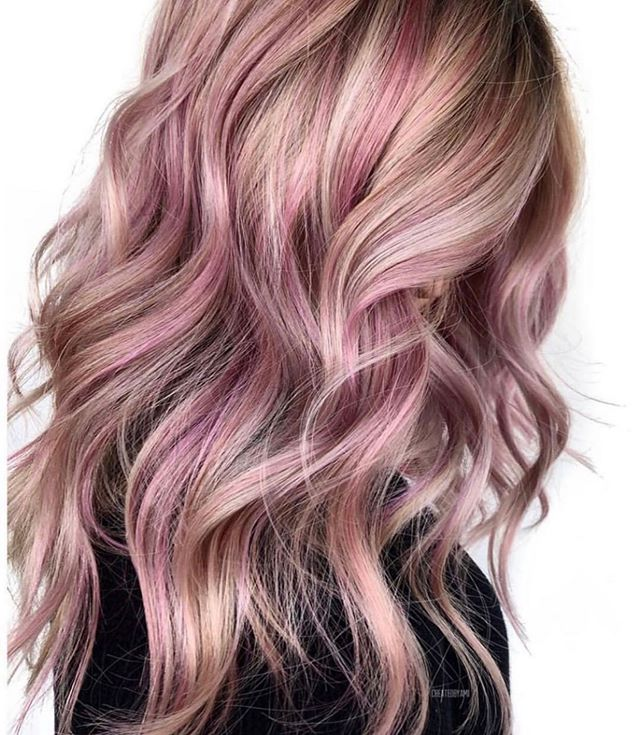 Rose is always a good idea. #roseallday @hairdotcom