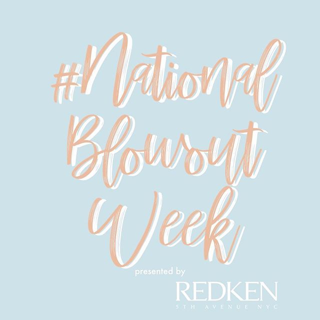 Today is the start of our first ever #nationalblowoutweek! This year we have partnered with @redken @goodyhair @pretebeauty @t3micro & @impressionsvanity to raise money for the brand new @beyoutiful_foundation! To participate by getting a blowout, download @pretebeauty app and book a blowout any time between today and next Saturday and they will donate 💯 to the foundation! If you're a stylist and want to get involved, email us! There are MANY prizes :)