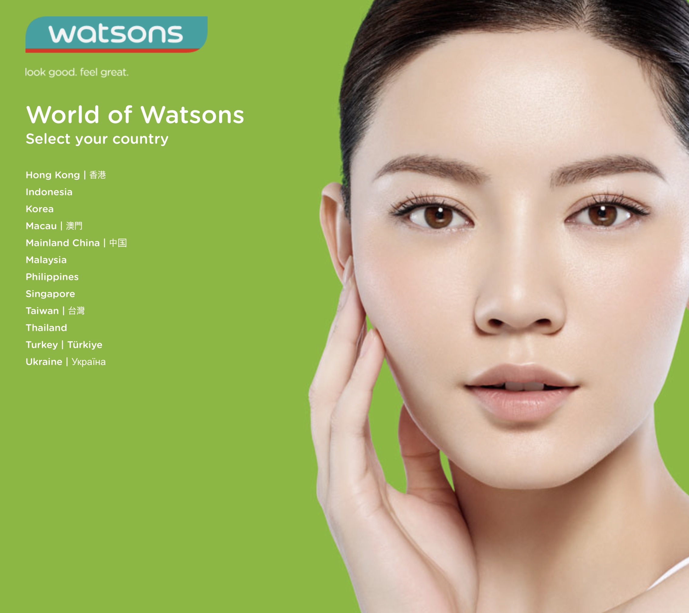 Watsons is under A.S. Watson Group - A member of CK Hutchison Holdings