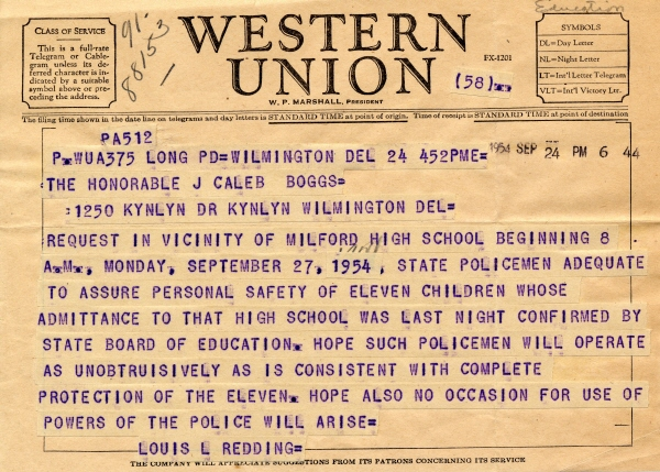 Click for telegrams to share with students as examples .