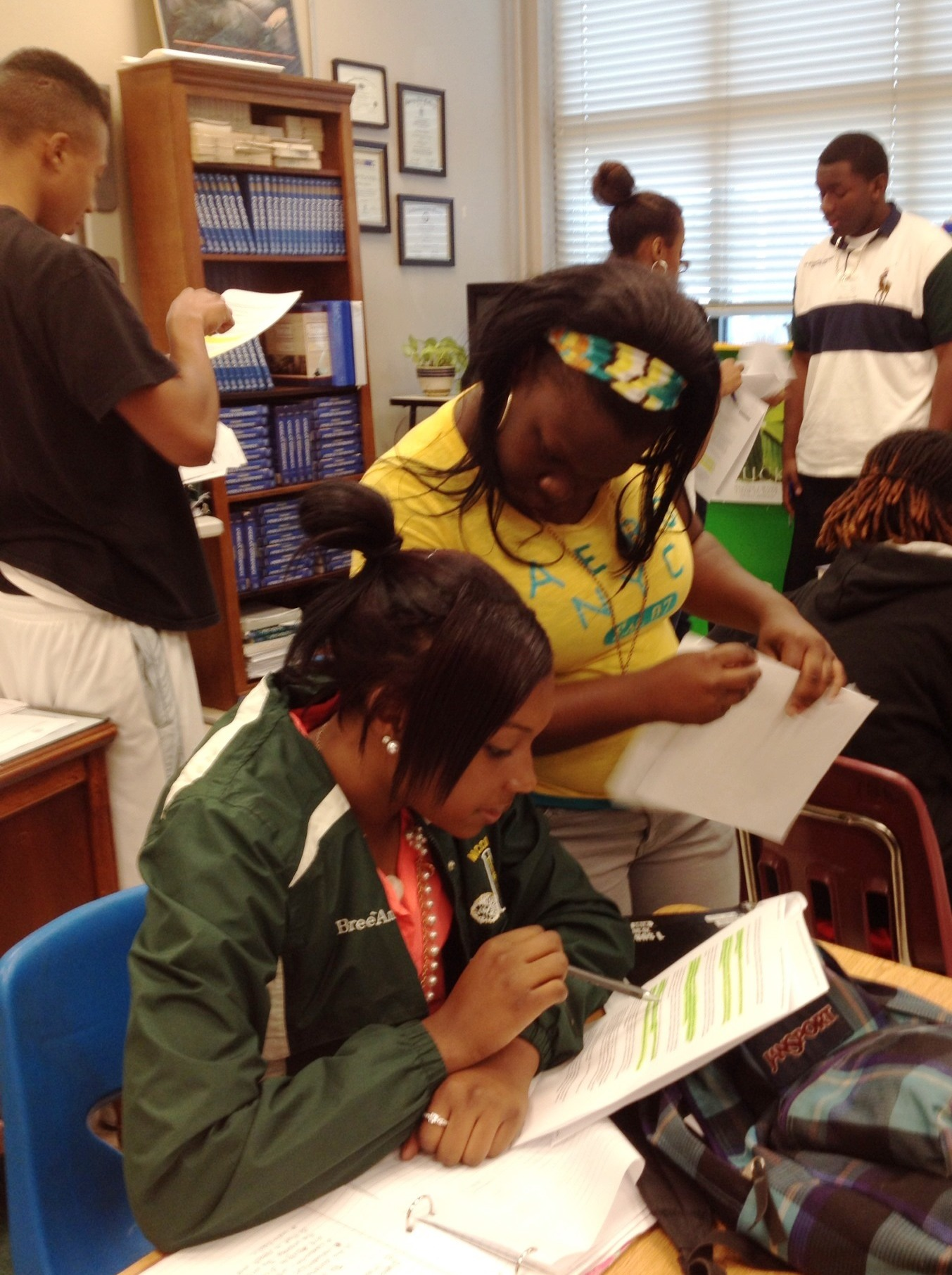 Students engaged in this lesson in Ms. Malone's classroom in McComb, Miss.
