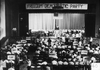 Mississippi Freedom Democratic Party State Convention, Jackson, Mississippi, July 1964.