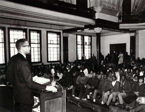 Malcolm X in Selma