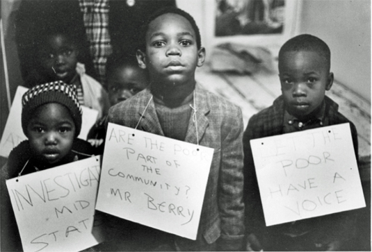 The Youth Council undertook many activities throughout the 1960s that helped the adult leaders of the local NAACP branch meet their goals. Courtesy Mississippi Department of Archives and History, T_013_3.