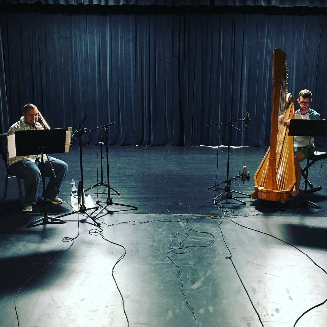 June 1, 2018 Recording Session - Performing Arts Academy, Middletown OH