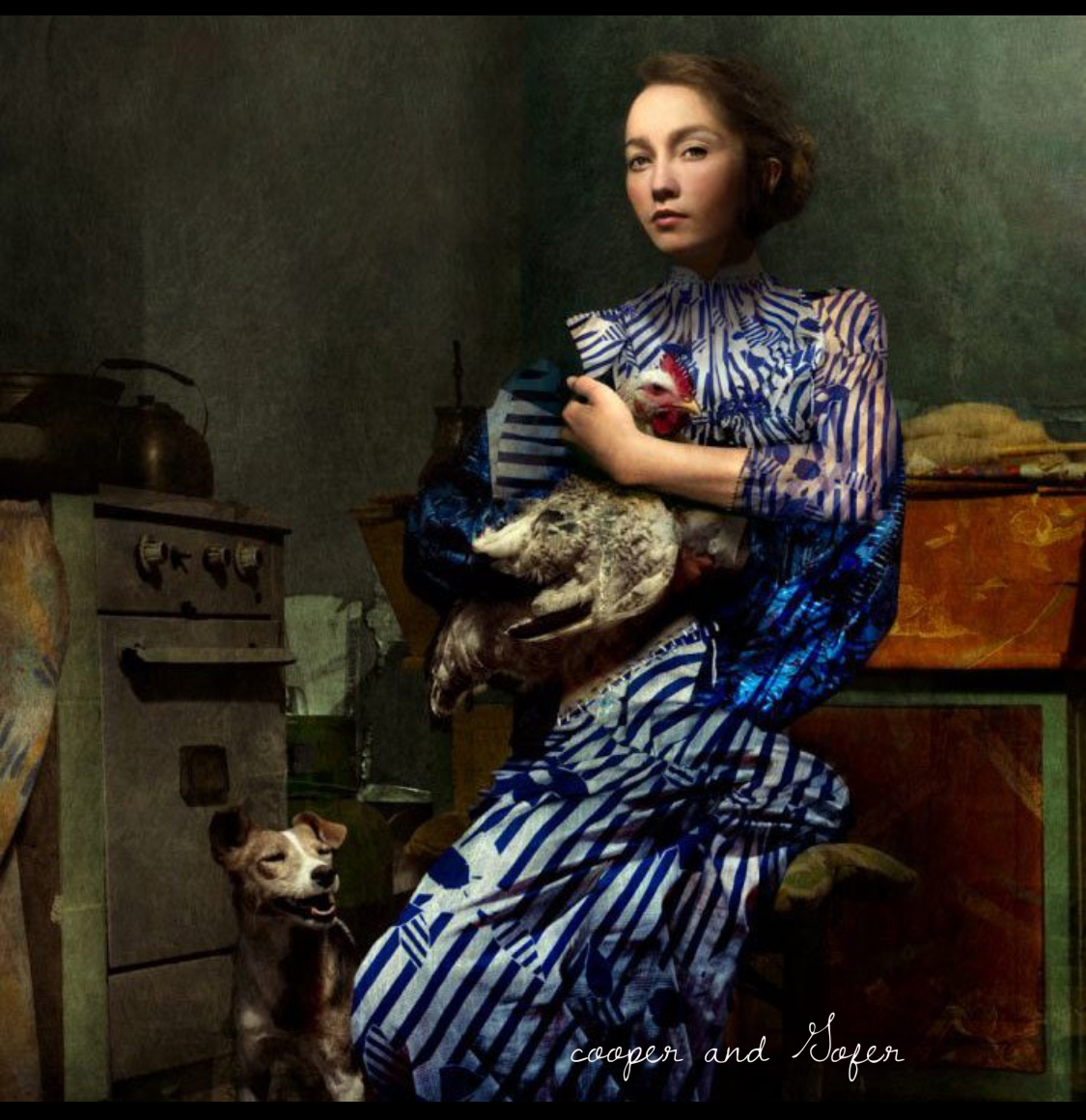 American artist Cooper and Gofer art photograph Women is Culture
