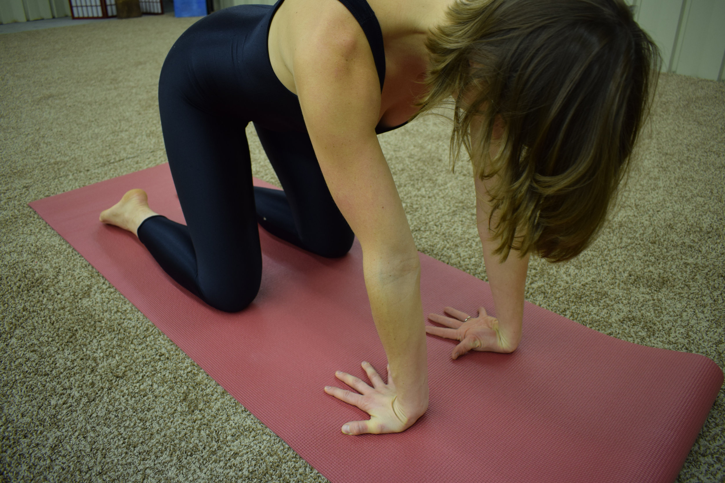 Figure 5: Stretch and strengthen the wrists with this powerful exercise.