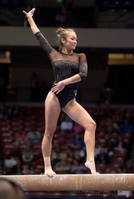 The balancing act - Click image to read more about Ellette on The Daily Bruin