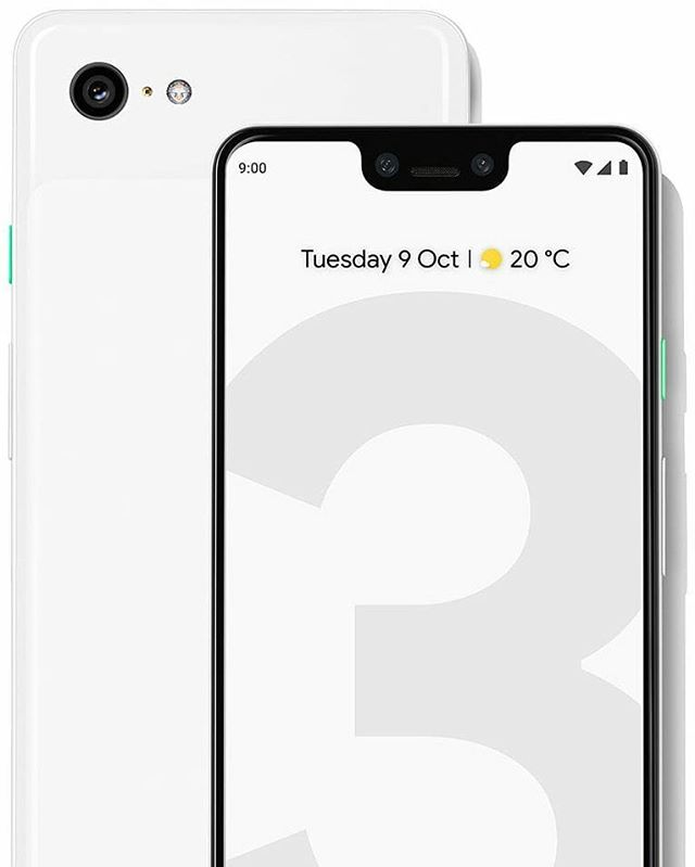 Ready or NOT... The NEW @madebygoogle #pixel3 and #pixel3xl... With the #iphoneX NOTCH hahaha 😂. Anyways I'm already custom to the notch because of my #iPhones.  The camera features in the Pixel 3 are pretty darn cool!!! @google @android #android #googlepixel3 #googlepixel3xl #googlepixel #phoneswithnotch