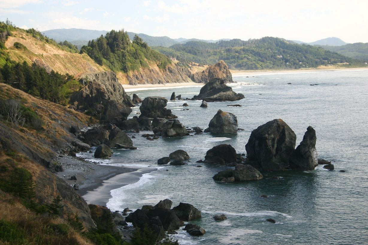 Pacific coast in Oregon, my home state