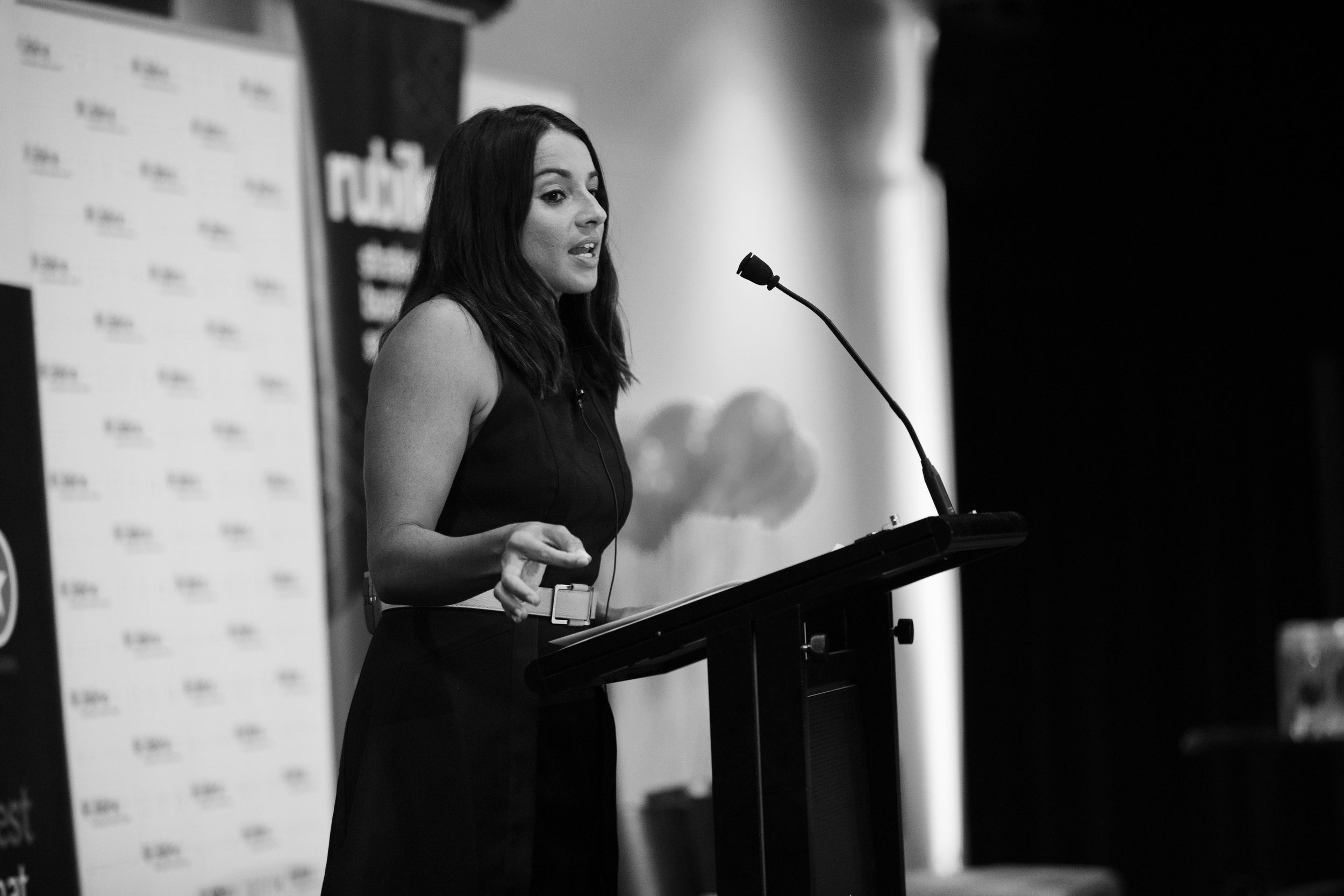 Maz's keynote at the CPA Women in Business Lunch 'How To Nurture Your Hustle'