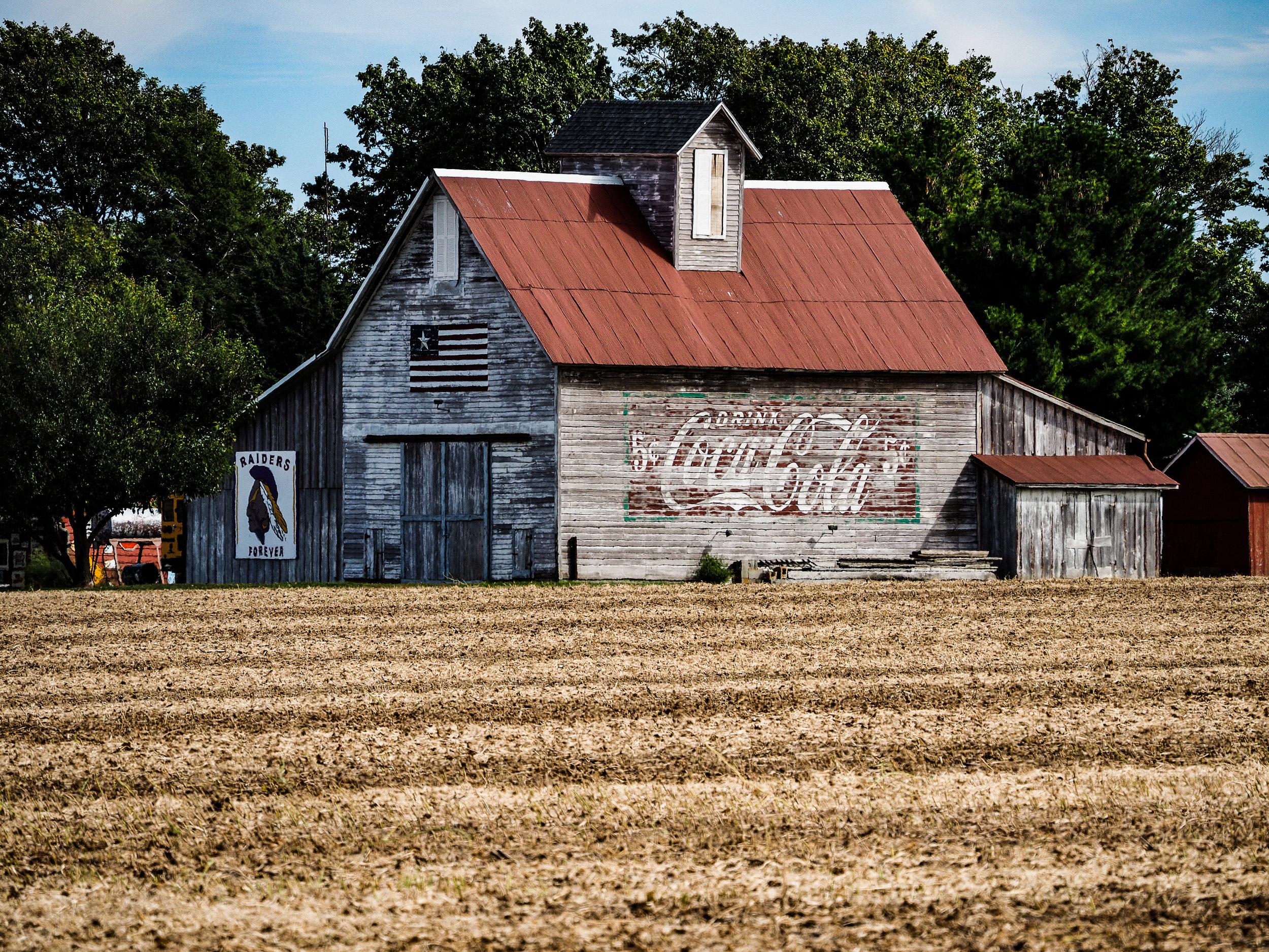 Coke Barn and Field