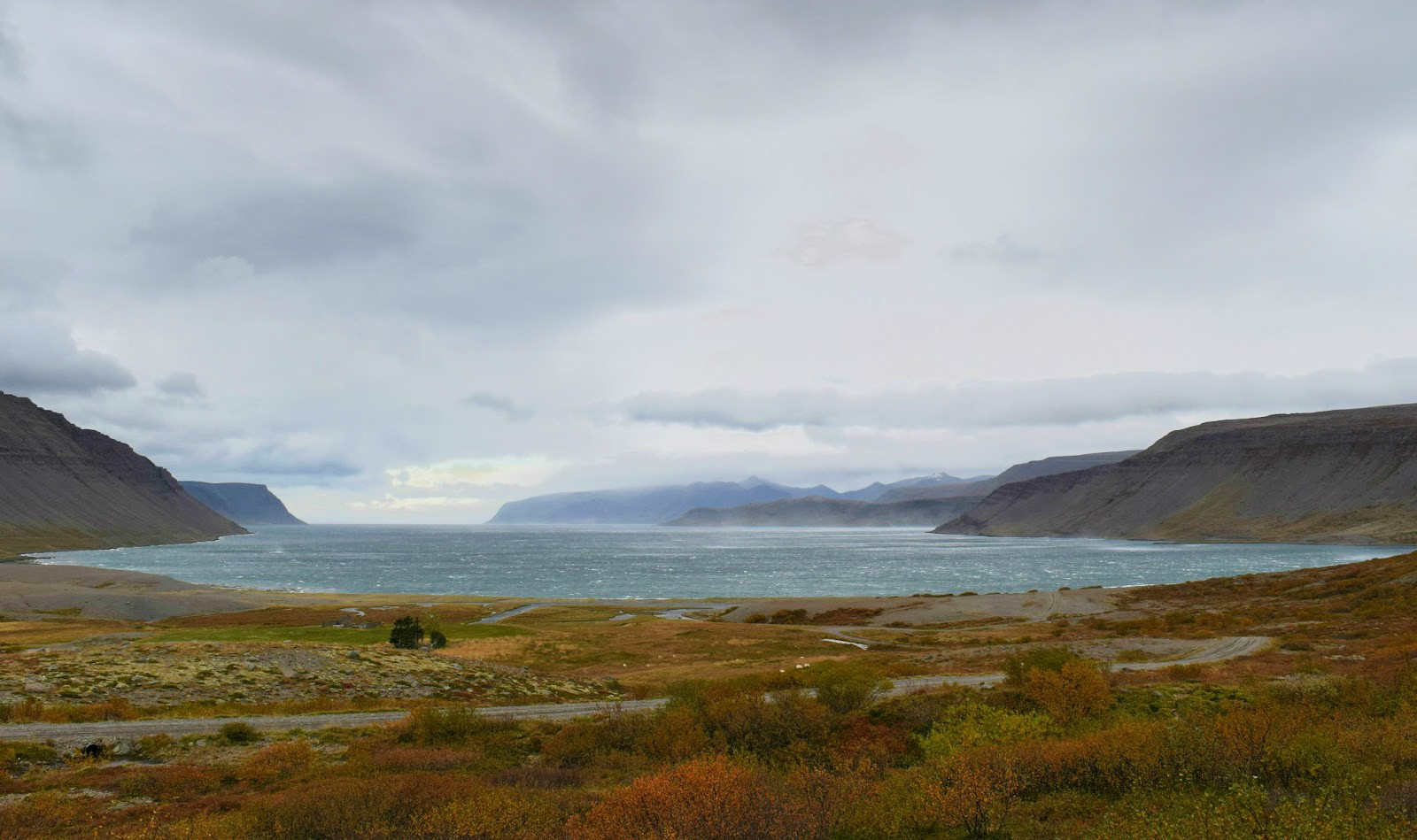 Some scenery from the Westfjords on our way to Bíldudalur