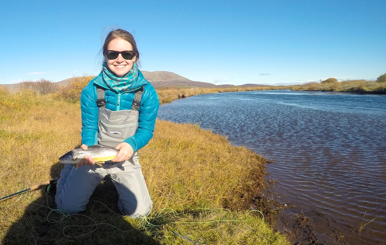 Fly fishing for Arctic Char