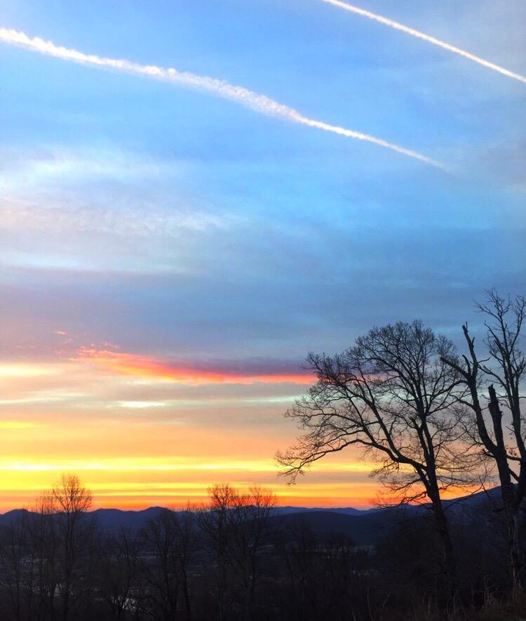 Virginia sunrise...
