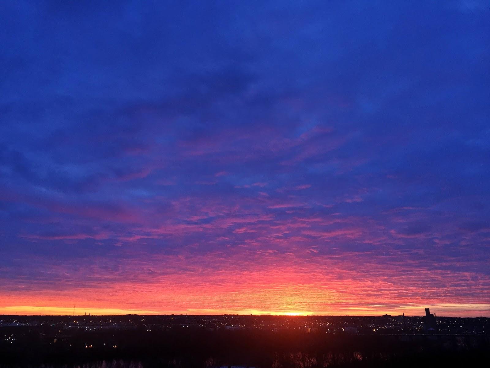 A Richmond sunset
