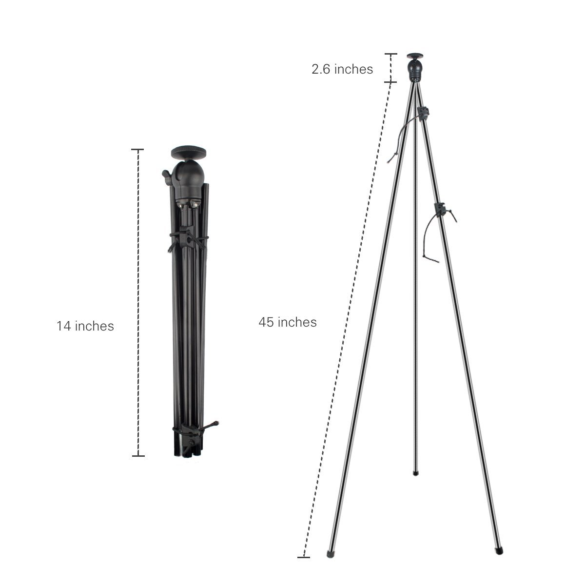 ZIPPOD 45 Inch Flexible And Compact Camera Tripod