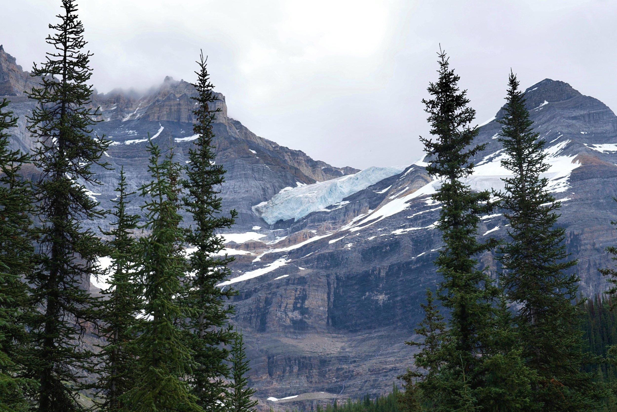 Part of a glacier