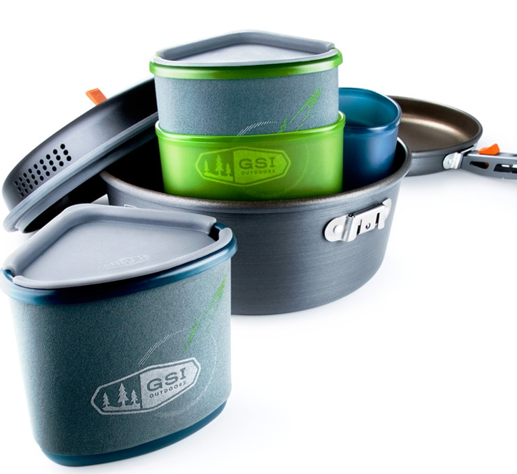 GSI Outdoors Pinnacle Backpacker Cookware Set