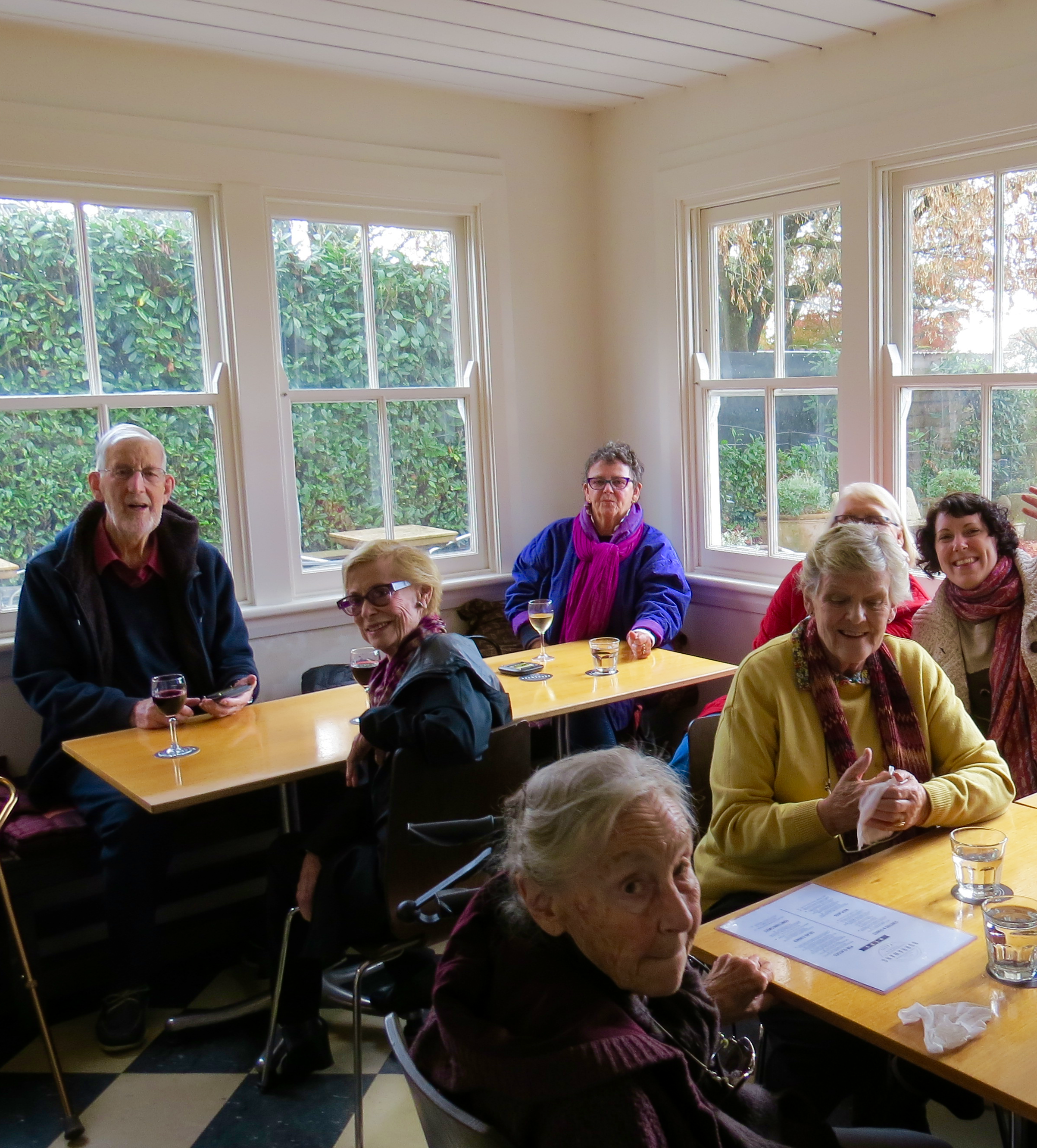 Astra Residents Relax Over Lunch