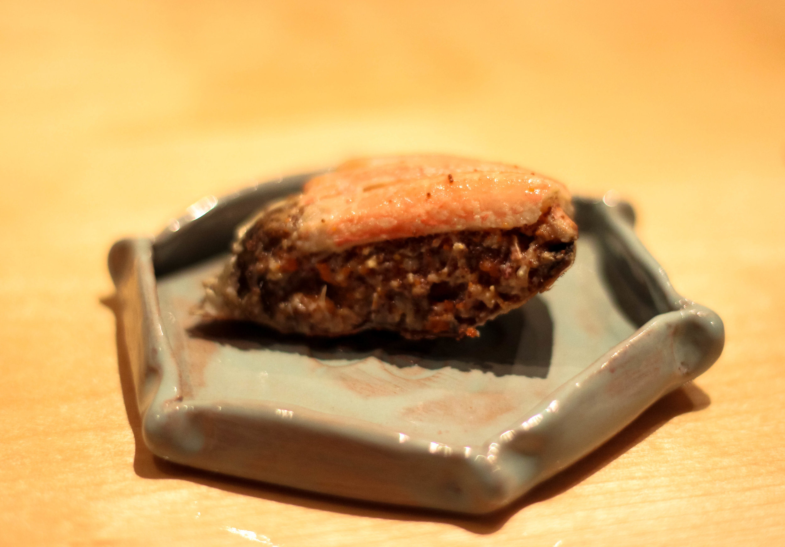 Kegani (horsehair crab) from Hokkaido.