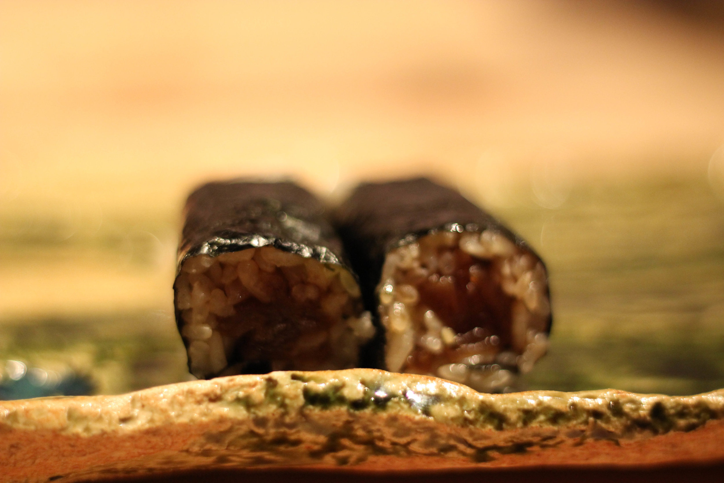 Kanpyo maki (gourd roll)