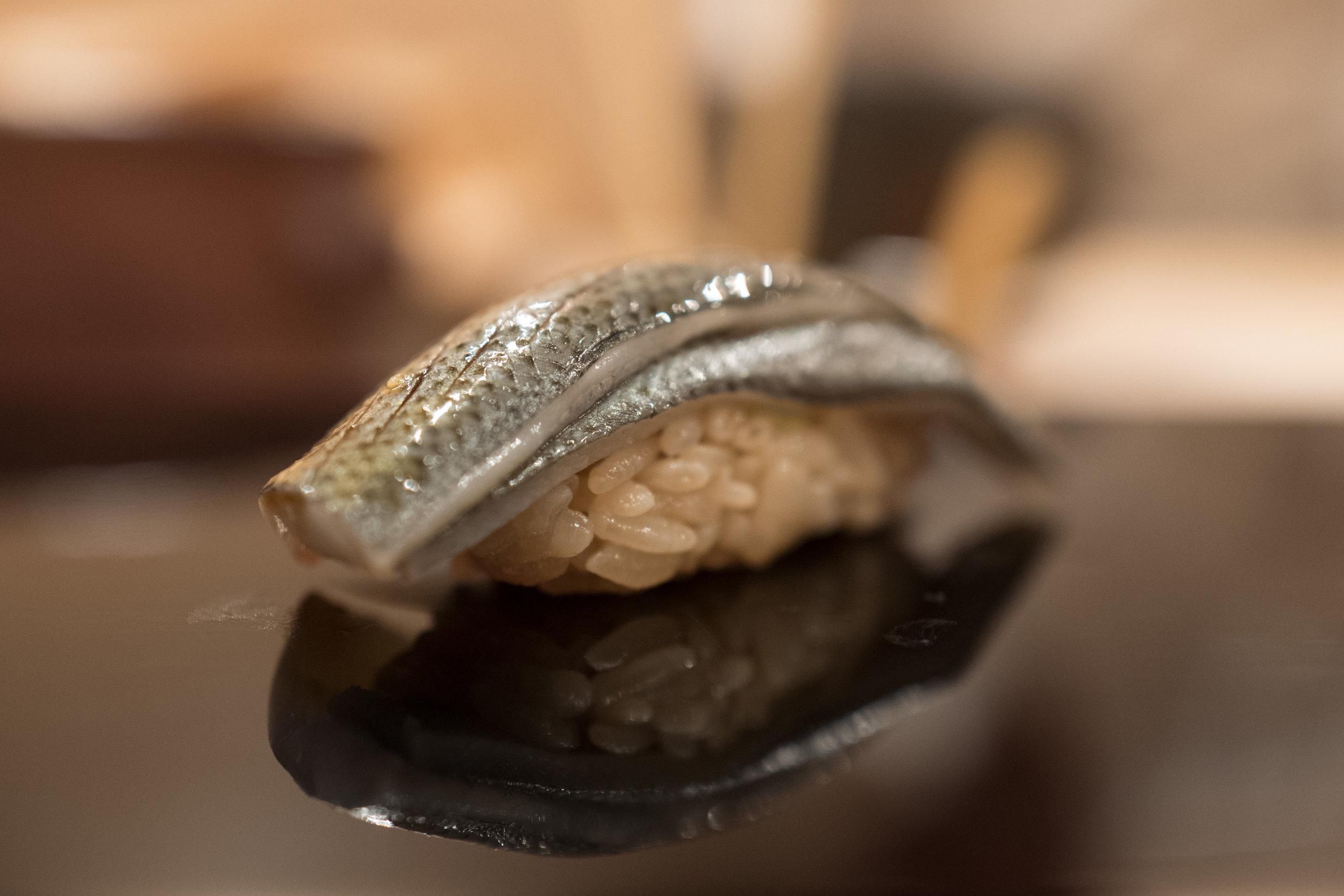A really delicious kohada - Keita's shari paired with this neta perfectly