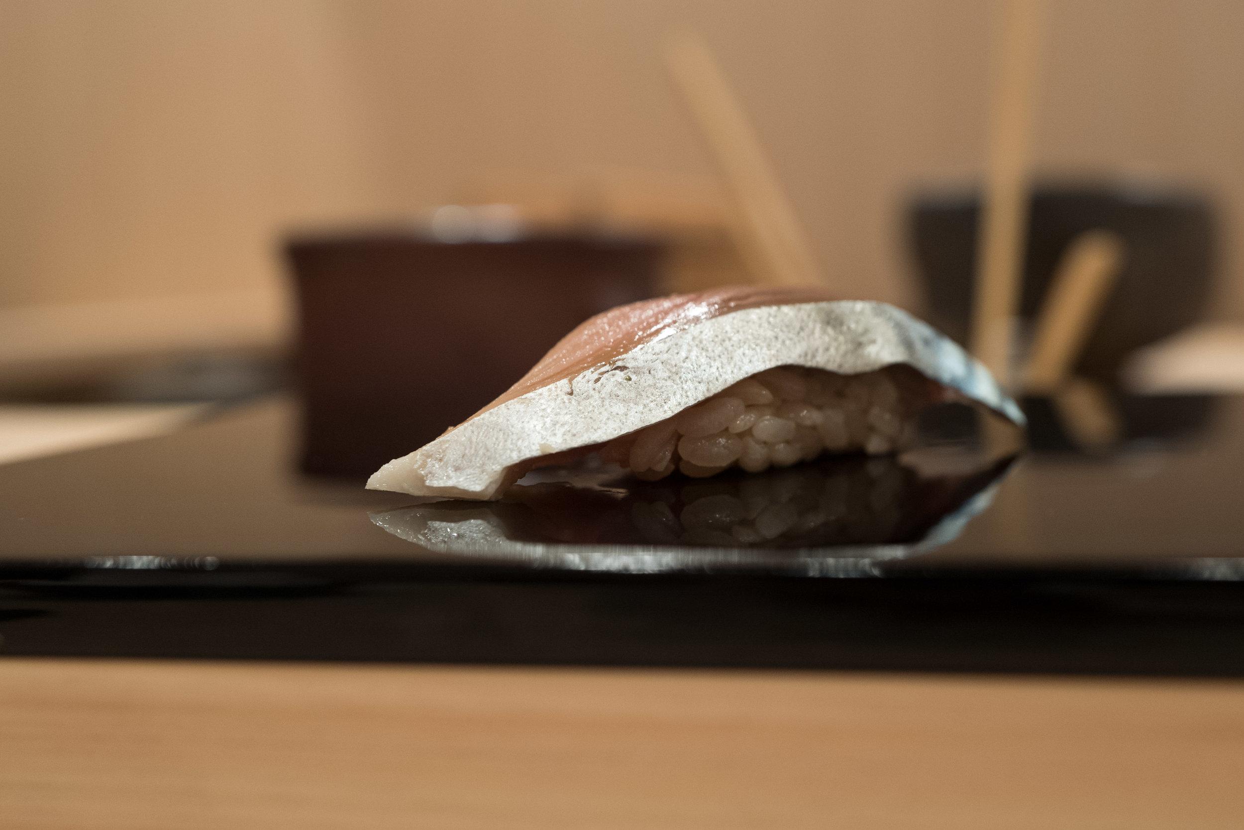 Keita-san's saba preparation is outstanding