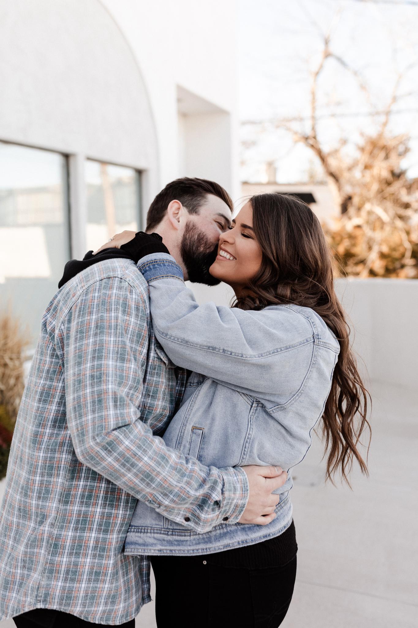 John + Anna | Modern Minimal Engagement Photos | Oklahoma Wedding Photographer-4.jpg