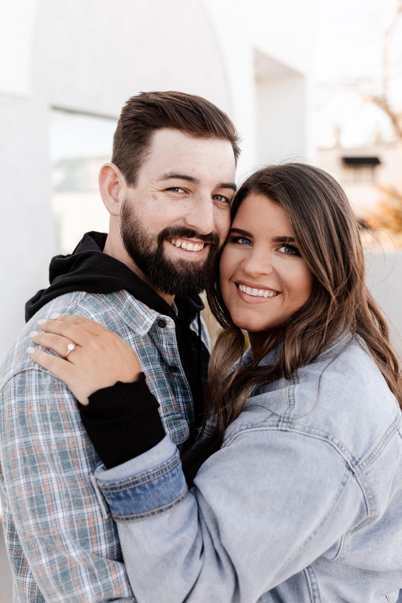 John + Anna | Modern Minimal Engagement Photos | Oklahoma Wedding Photographer-8.jpg