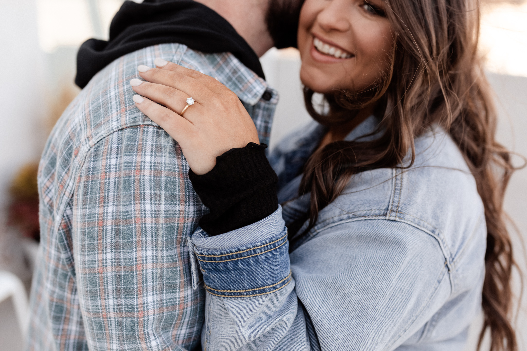 John + Anna | Modern Minimal Engagement Photos | Oklahoma Wedding Photographer-9.jpg