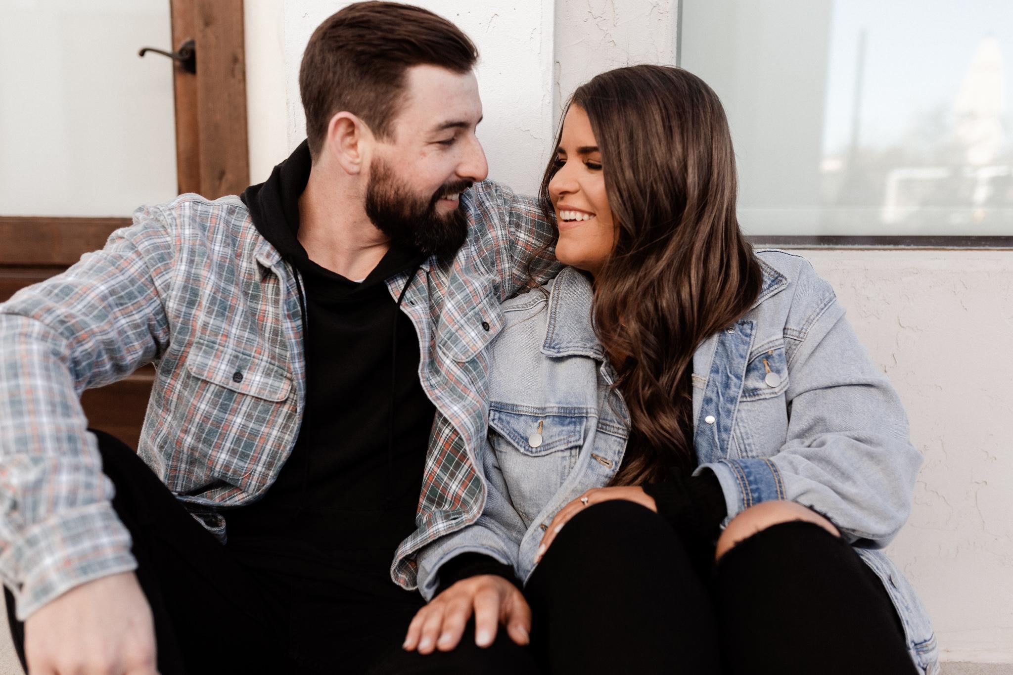 John + Anna | Modern Minimal Engagement Photos | Oklahoma Wedding Photographer-21.jpg