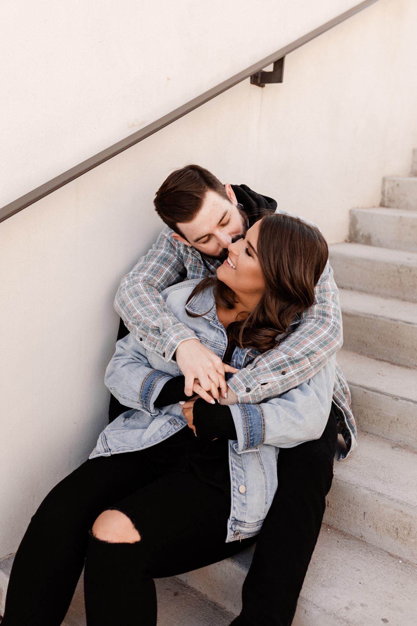 John + Anna | Modern Minimal Engagement Photos | Oklahoma Wedding Photographer-22.jpg