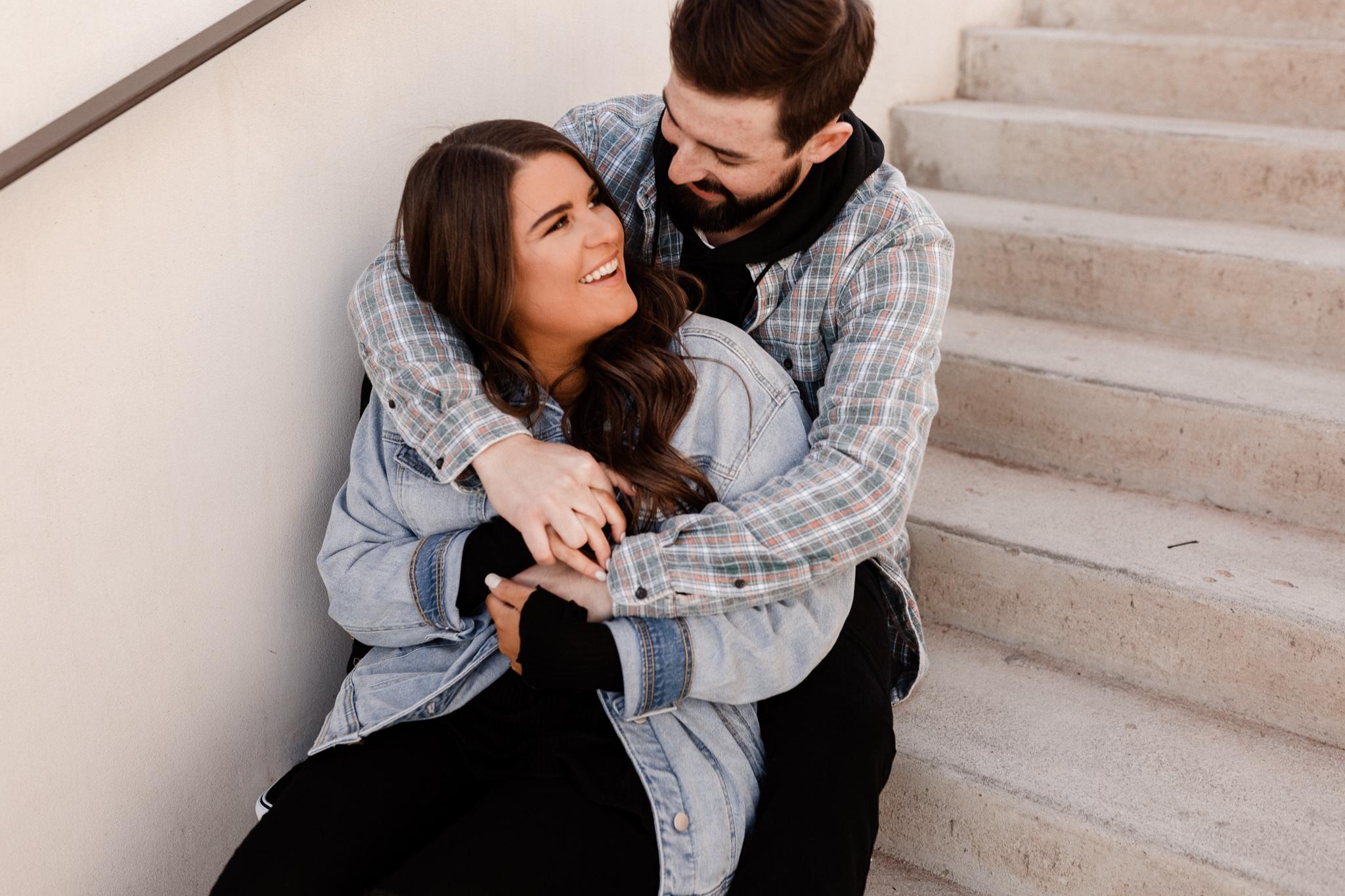 John + Anna | Modern Minimal Engagement Photos | Oklahoma Wedding Photographer-23.jpg