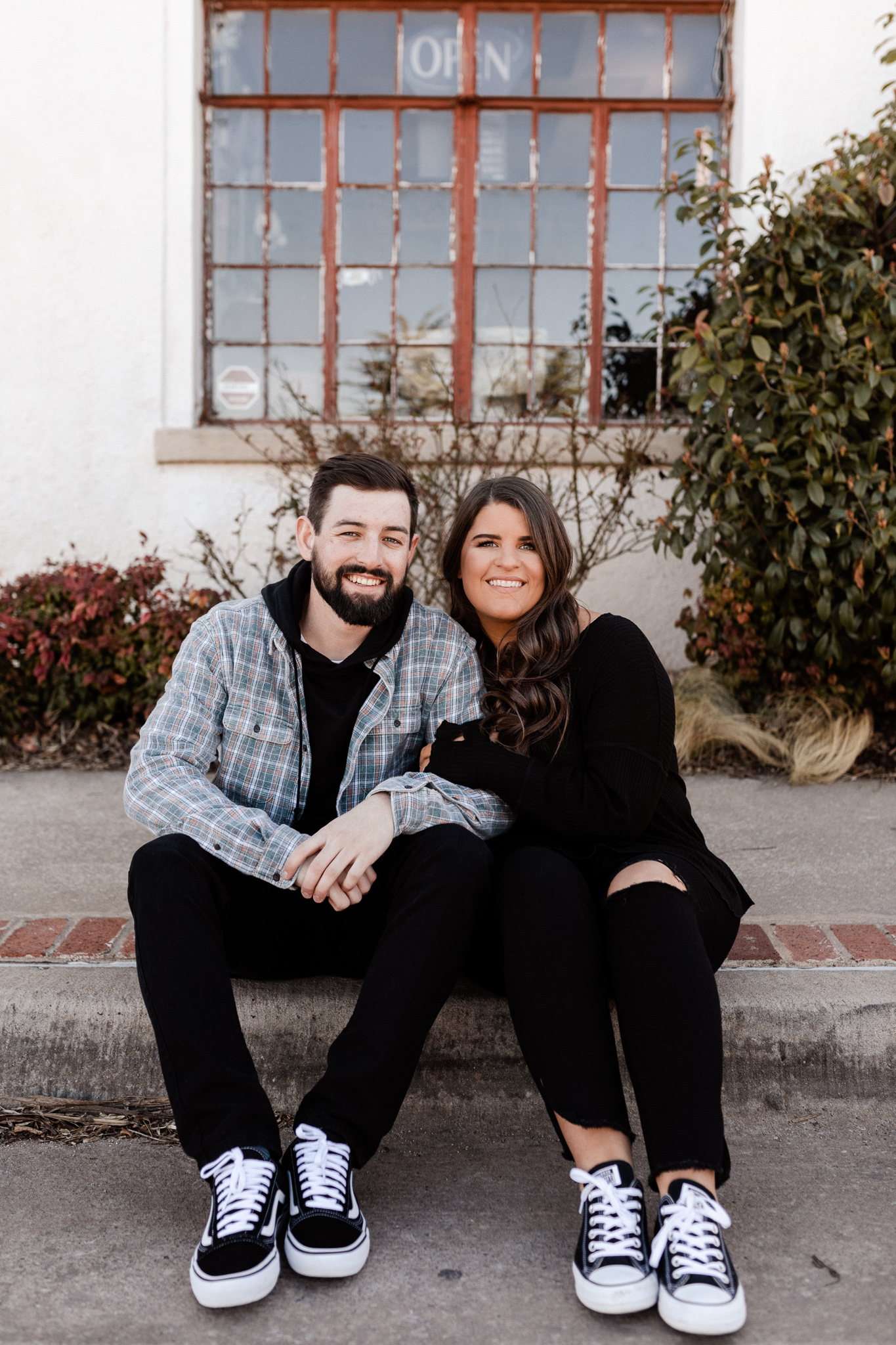 John + Anna | Modern Minimal Engagement Photos | Oklahoma Wedding Photographer-26.jpg