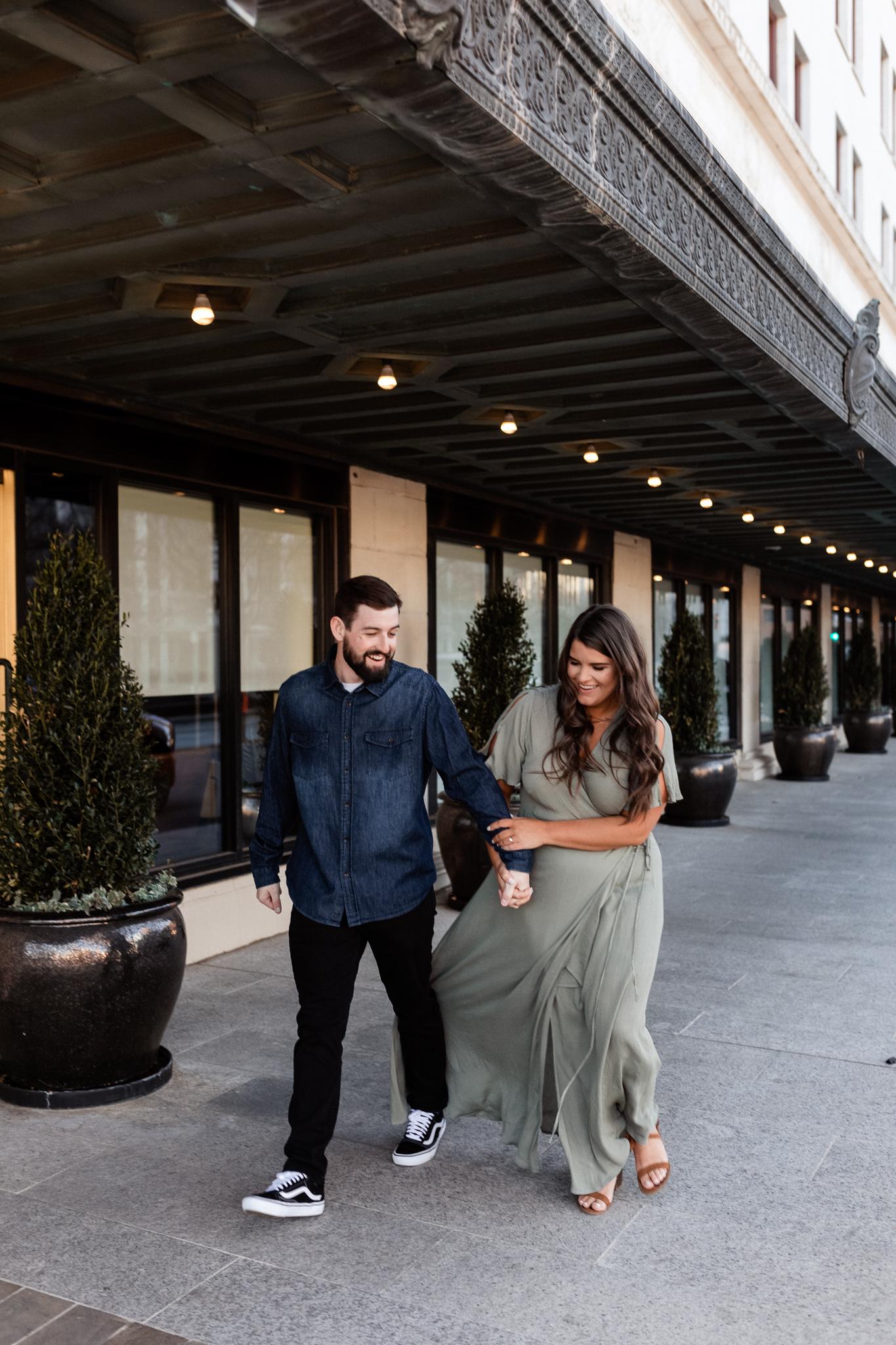 John + Anna | Modern Minimal Engagement Photos | Oklahoma Wedding Photographer-31.jpg