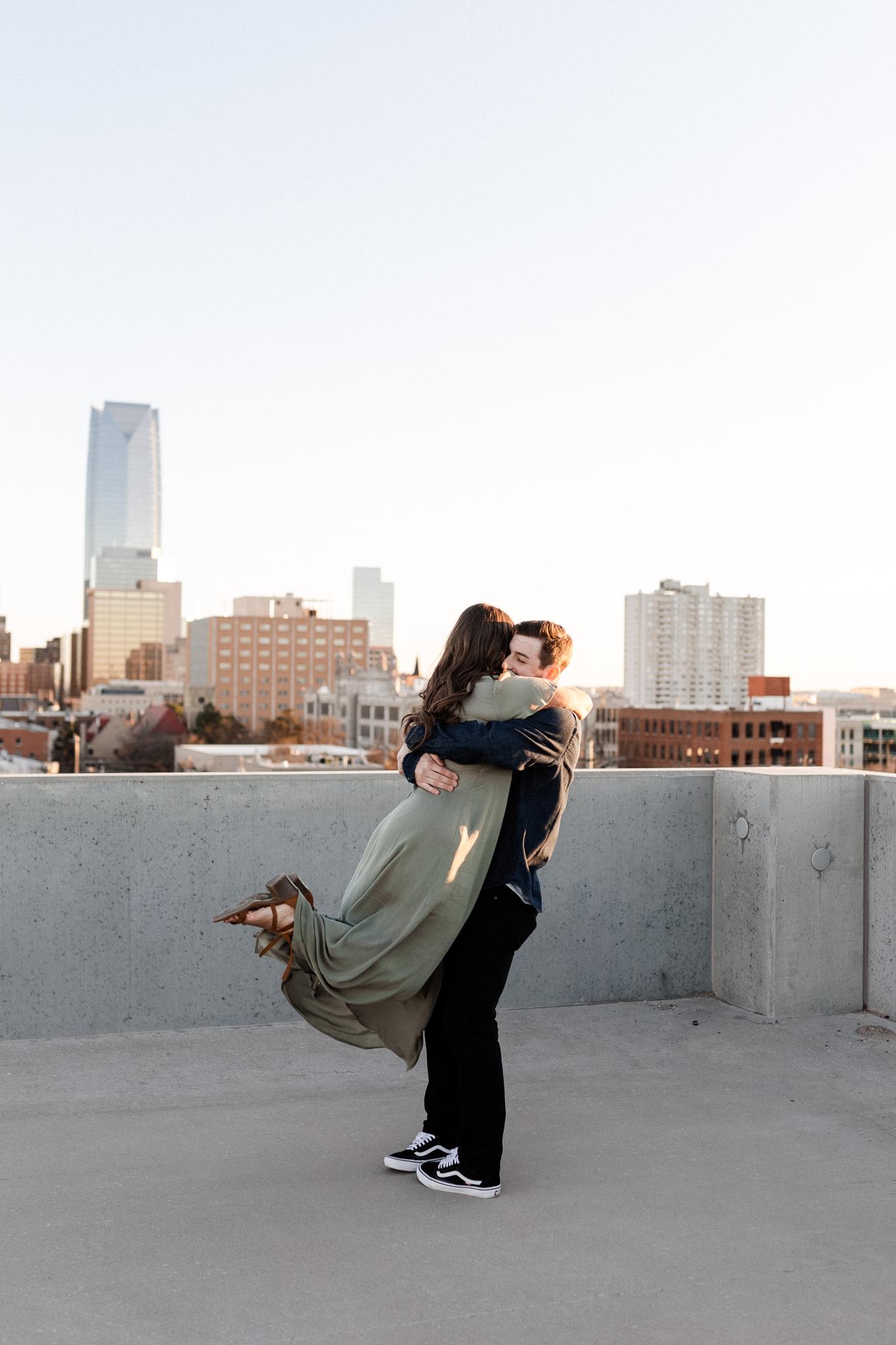 John + Anna | Modern Minimal Engagement Photos | Oklahoma Wedding Photographer-35.jpg