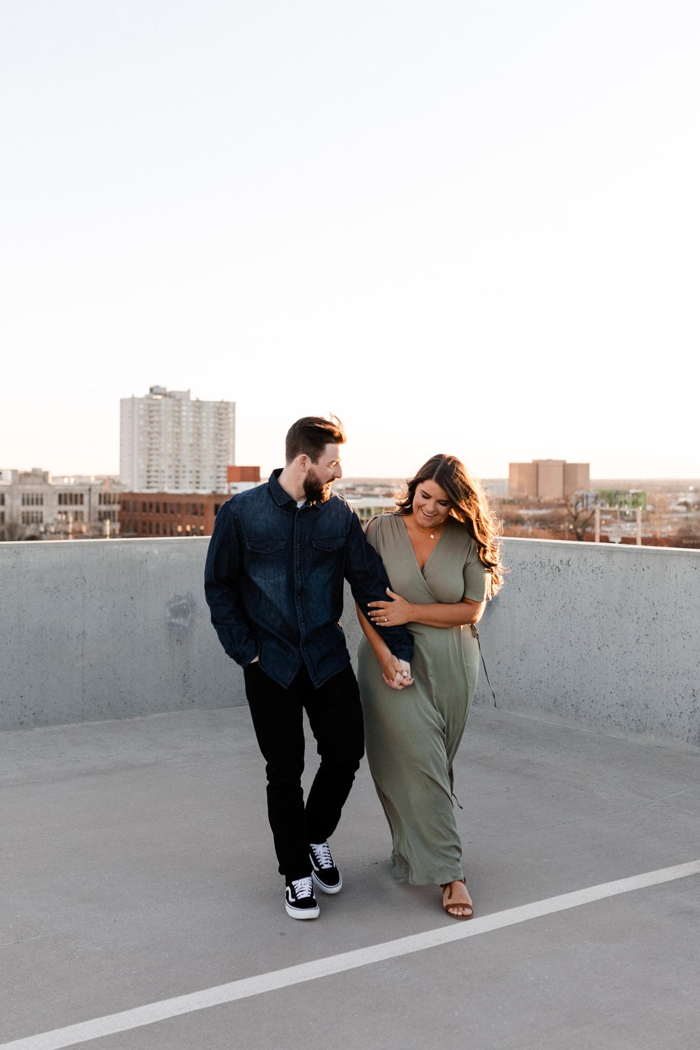 John + Anna | Modern Minimal Engagement Photos | Oklahoma Wedding Photographer-36.jpg