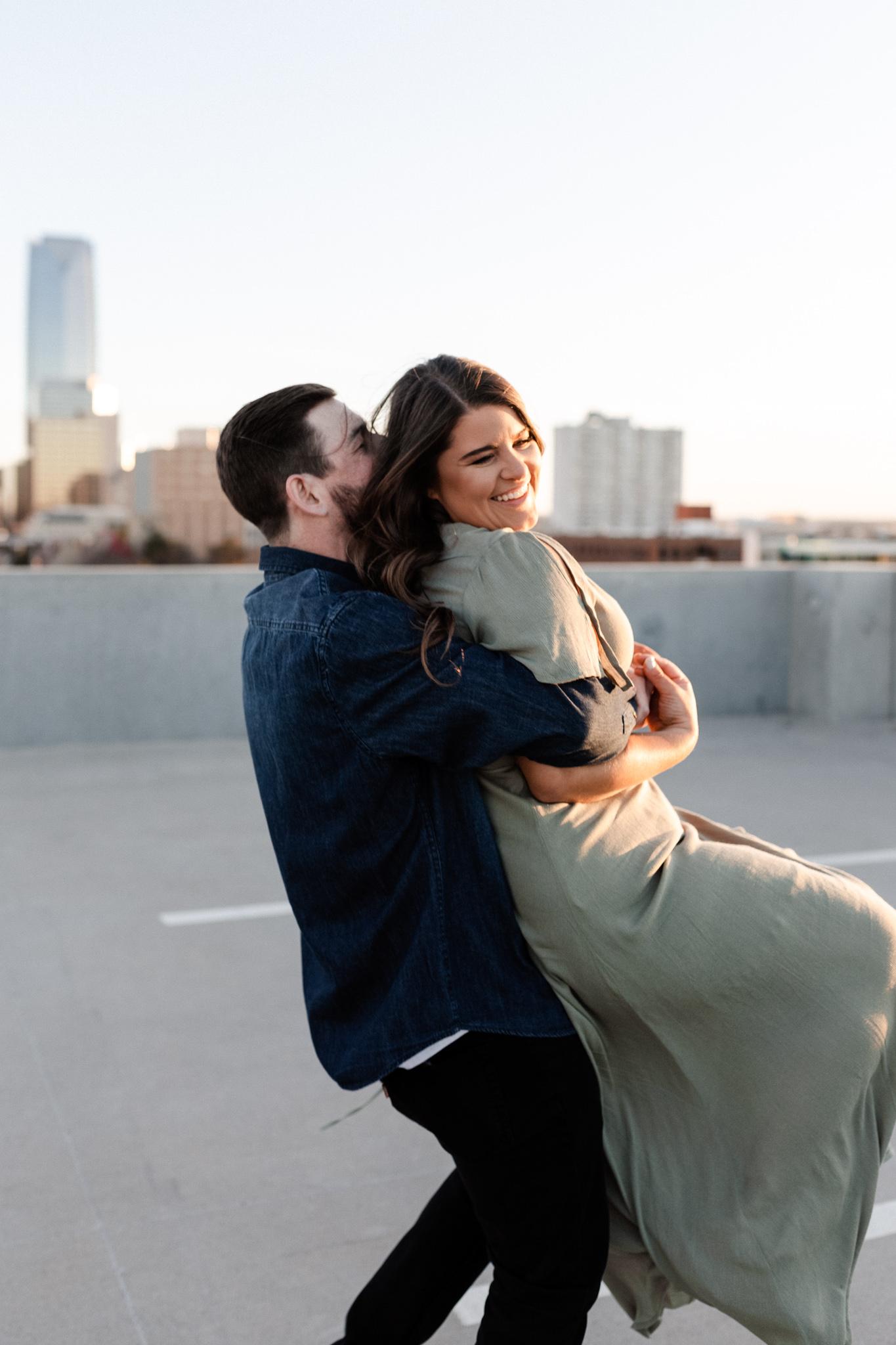 John + Anna | Modern Minimal Engagement Photos | Oklahoma Wedding Photographer-38.jpg