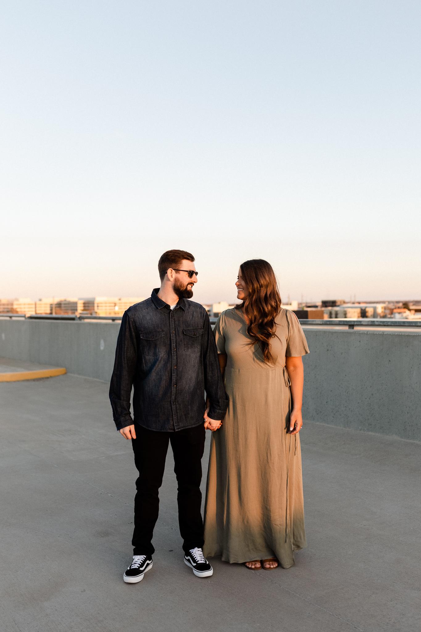 John + Anna | Modern Minimal Engagement Photos | Oklahoma Wedding Photographer-43.jpg