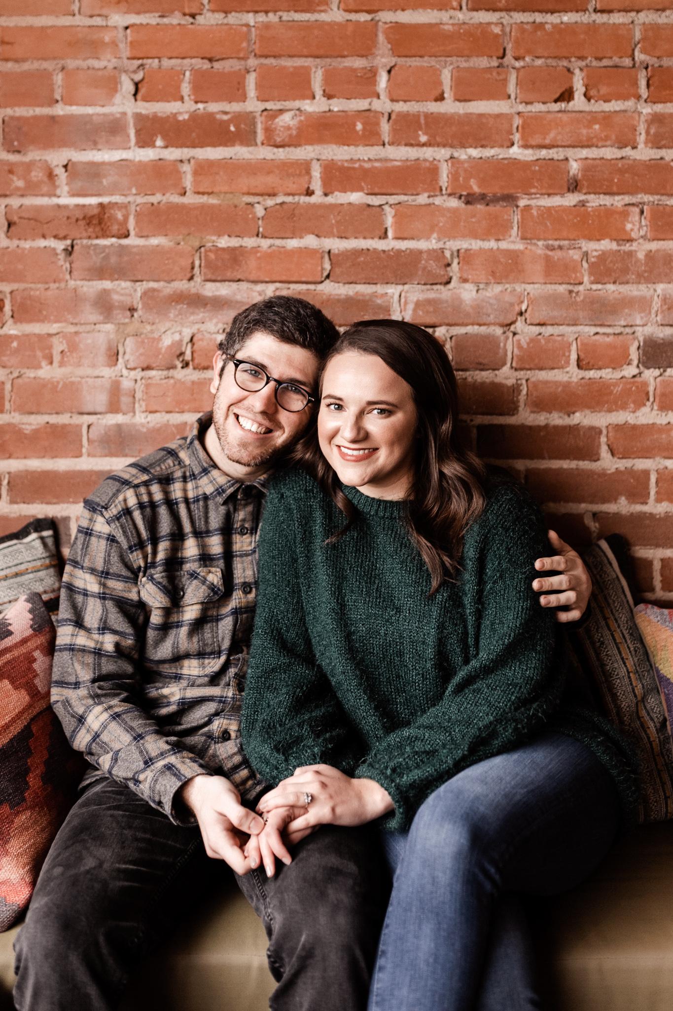 Seamus + Lauren | Modern Downtown Engagements | Oklahoma Wedding Photographer-3.jpg