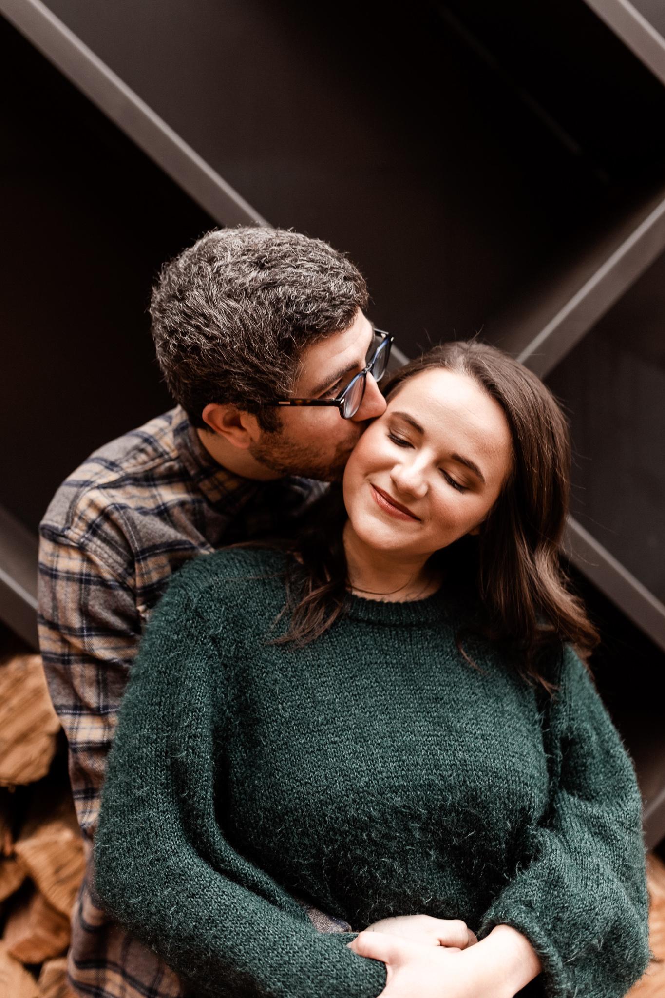 Seamus + Lauren | Modern Downtown Engagements | Oklahoma Wedding Photographer-17.jpg