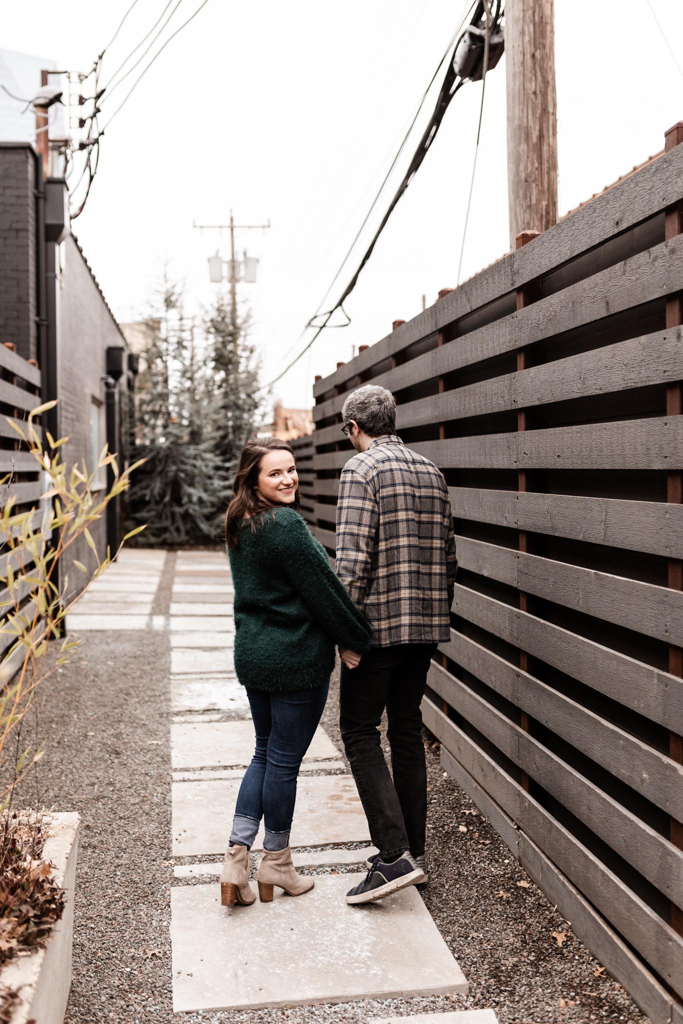 Seamus + Lauren | Modern Downtown Engagements | Oklahoma Wedding Photographer-27.jpg