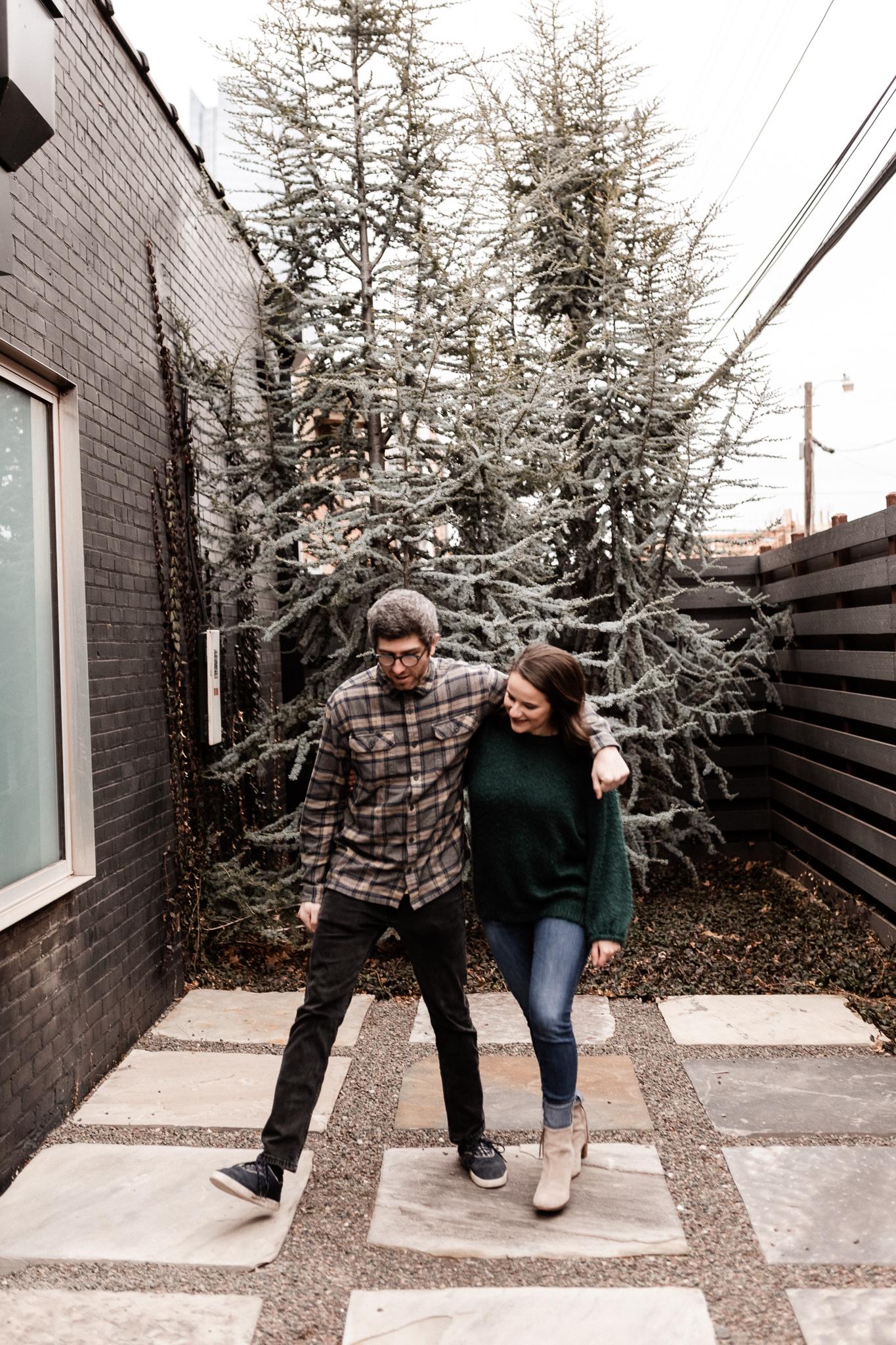 Seamus + Lauren | Modern Downtown Engagements | Oklahoma Wedding Photographer-28.jpg