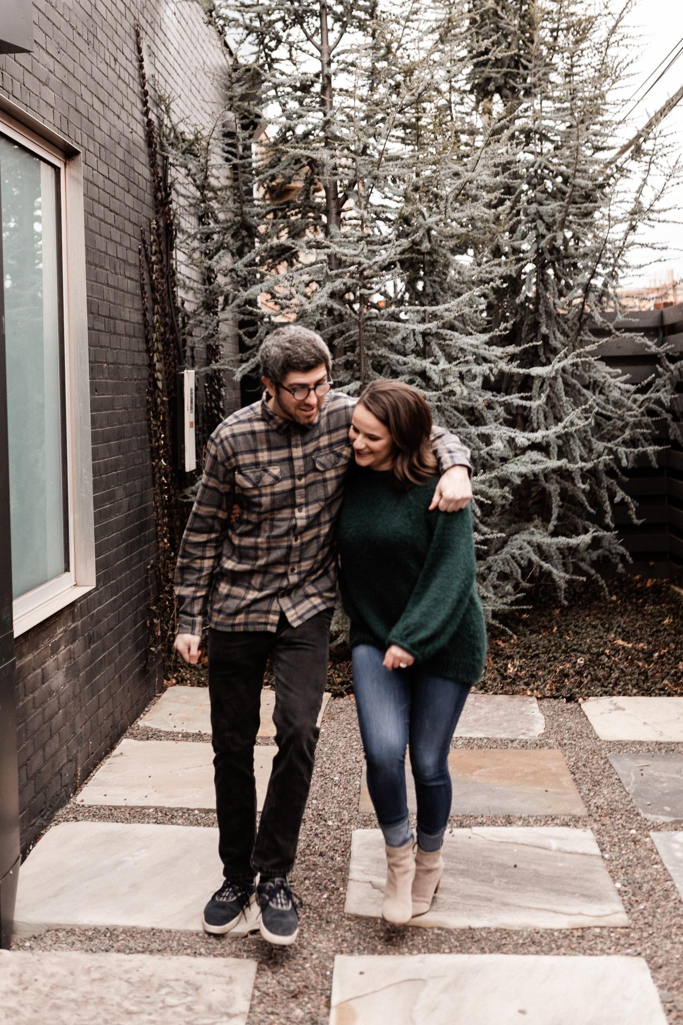 Seamus + Lauren | Modern Downtown Engagements | Oklahoma Wedding Photographer-29.jpg