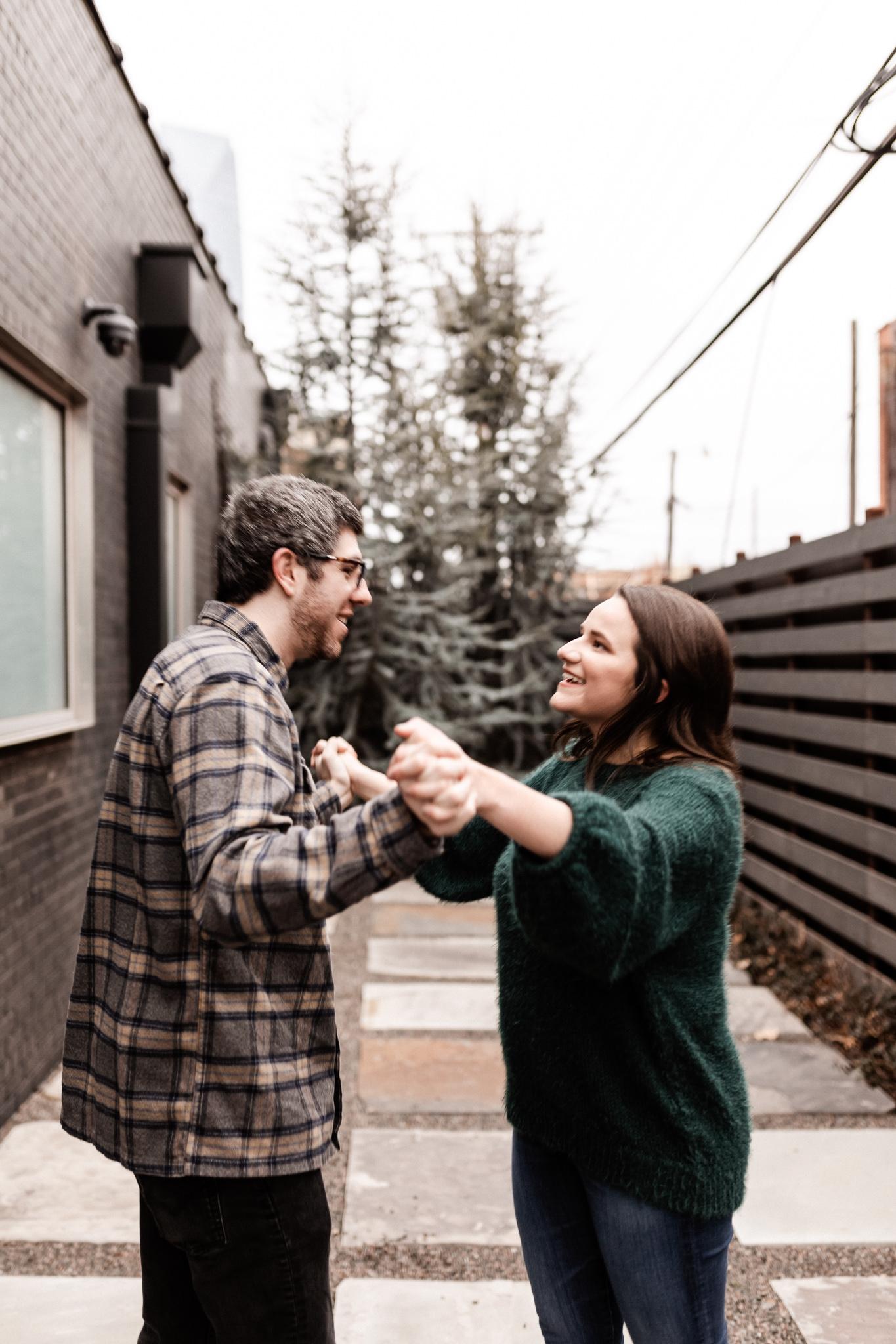 Seamus + Lauren | Modern Downtown Engagements | Oklahoma Wedding Photographer-32.jpg